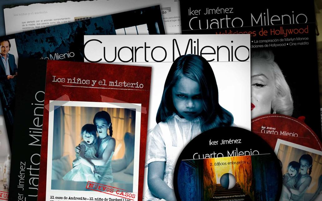 Colecciones Cuarto Milenio - Art Director | UI.UX Designer ...