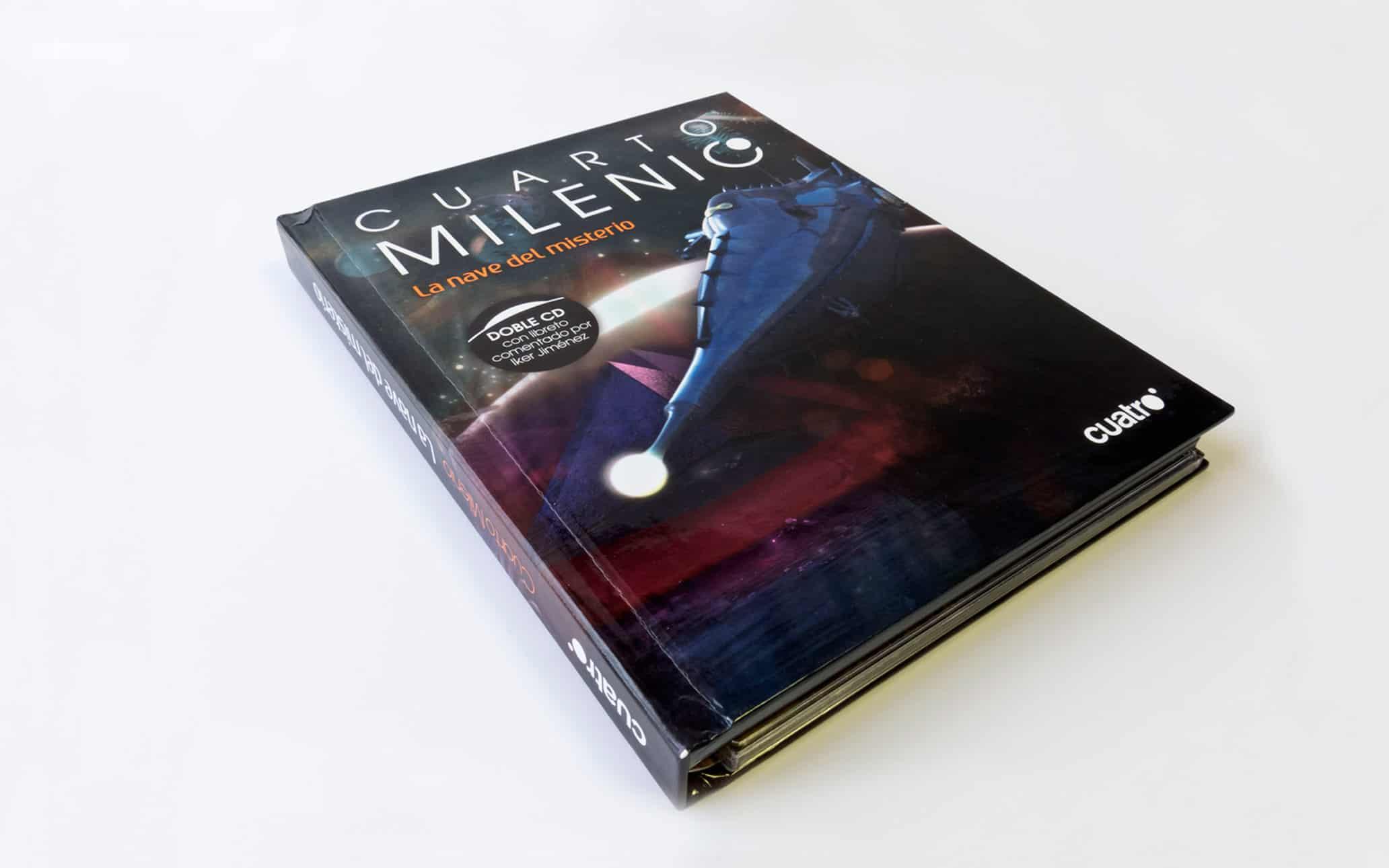 Libro CD Cuarto Milenio - Art Director   UI.UX Designer ...